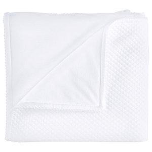 Royal White Padded Blanket