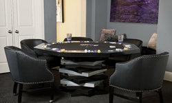 Custom Poker Table & Poker Chips
