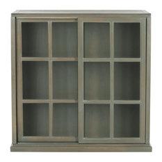 Safavieh Greg Bookcase Ash Grey Bookcases