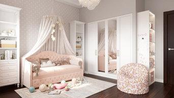 Воздушная комната для девочки (4 года)
