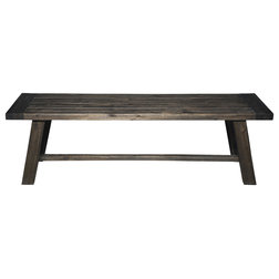 Farmhouse Dining Benches by Alpine Furniture, Inc