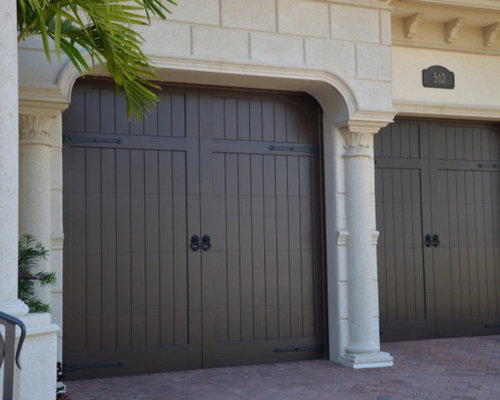 Composite garage doors deluxe door composite garage door for Composite wood garage doors