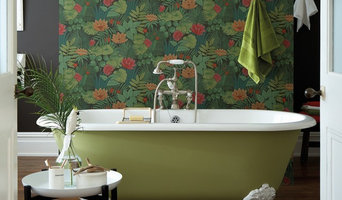 Contemporary and Retro Styled Victorian Bathroom