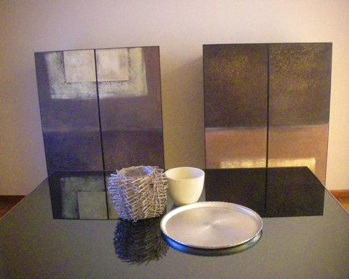 Realizzazione di rivestimenti per mobili con decorazione artistica ...