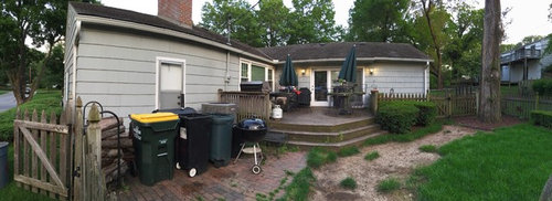 Replacing Deck With Stamped Concrete