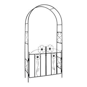 vidaXL Garden Arch Door