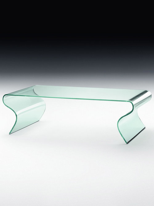 Charlotte U2013 Curved Glass Coffee Table   Coffee Tables