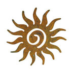 Perfect Sun Swirl Garden Wall Art