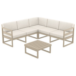 Transitional Outdoor Lounge Sets by Compamia