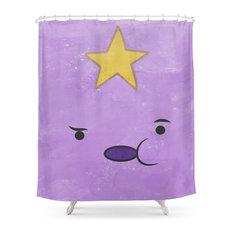 Lumpy Space Princess Shower Curtain