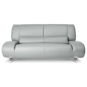 Brilliant Aspen Microfiber Leather Sofa Contemporary Sofas By Theyellowbook Wood Chair Design Ideas Theyellowbookinfo