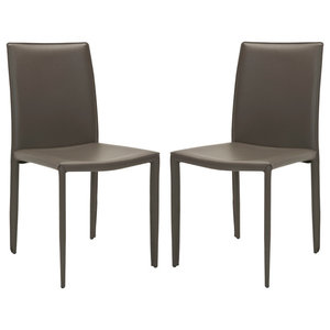 Safavieh Brody Accent Chairs, Set of 2, Charcoal