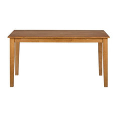 Simplicity Honey Rectangle Dining Table