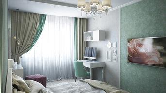 Спальня в нео-классике