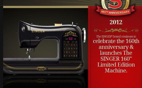 Singer 40th Anniversary Machine Cool Flatbed Sewing Machine Wikipedia
