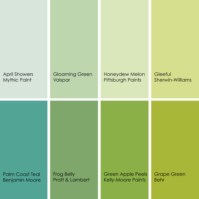 by jennifer ott design - Apple Green Color