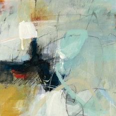 """Apex I"" Fine Art Canvas Print, 54""x54"""