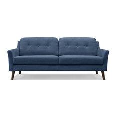 - Gotherburg 3 Seater Sofa - Blue - Sofas