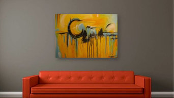 Original Modern Abstract Art by Artist Renae Smelko