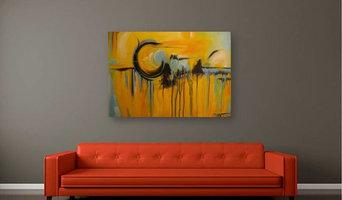 Original Modern Abstract Art by Artist Renae Smelko