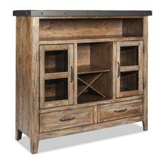Intercon Furniture Taos Pantry in Canyon Brown
