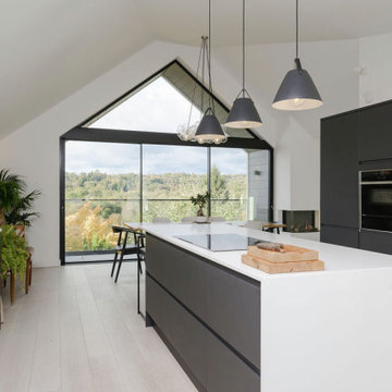 1960s Bungalow Converted to an Upside-down House