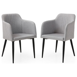 Midcentury Dining Chairs by AC Pacific Corporation