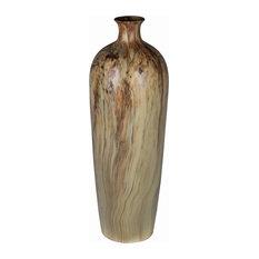 Privilege International Marble Ceramic Vase, Large