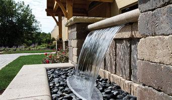 Backyard Colorfalls Water Feature