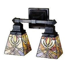 "Meyda 12"" Glasgow Bungalow 2-Light Wall Sconce"