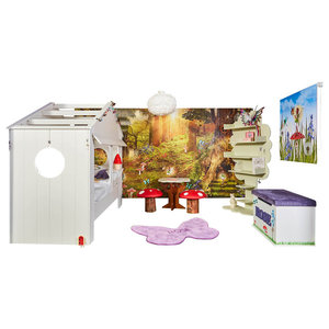 Away With The Fairies Complete Fairy Bedroom, Blind Size 100x180 Cm