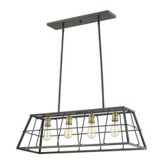 Acclaim Charley 4-LT Pendant IN21053ORB - Oil-Rubbed Bronze