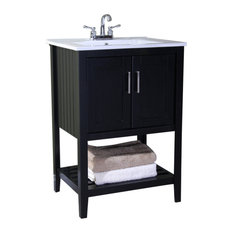 Legion Furniture   24  Sink Vanity Without Faucet  Espresso   Bathroom  Vanities And SinkBathroom Vanities   Houzz. 24 Bathroom Vanity Without Top. Home Design Ideas