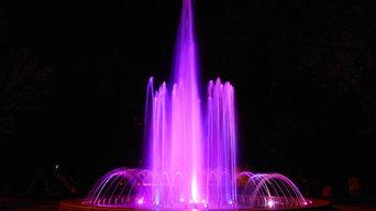Танцующий фонтан диаметром 6 метров всего за 3 млн.рублей