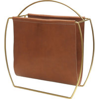 Russell Magazine Rack, Brown