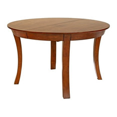 A America   A America Grant Park Oval Extendable Butterfly Dining Table,  Pecan
