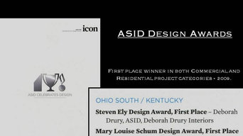 Deborah Drury, ASID Design Awards.