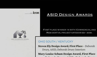 Deborah Drury, ASID Design Awards.