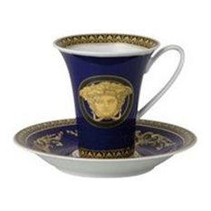 Versace Medusa Blue 6oz Cup, High