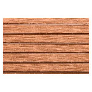 RubberFlooringInc Helios Deck Tiles, 4 Slat,  12