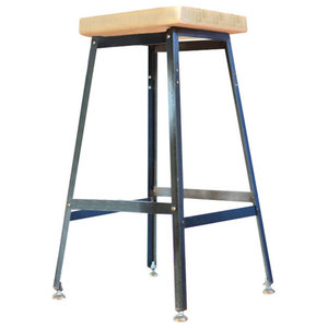 Brilliant Quad Pod Bar Stool In Natural Industrial Bar Stools And Evergreenethics Interior Chair Design Evergreenethicsorg