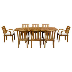 Craftsman Outdoor Dining Sets by Chic Teak