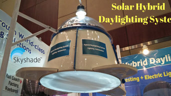 Sun oriented Hybrid Daylighting  Lighting Automation  LED Dimming Controllers