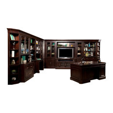 l shaped house entertainment centers tv stands houzz. Black Bedroom Furniture Sets. Home Design Ideas