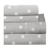 Lullaby Bedding Space Printed Sheet Set, Space Collection, Twin XL