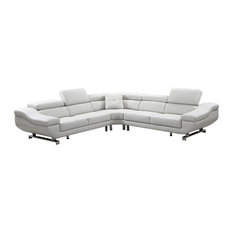 3-Piece Sectional, Cloud White