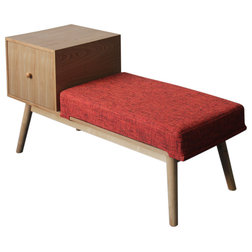 Midcentury Accent And Storage Benches by GDFStudio