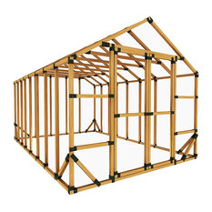 10x16 Standard Storage Shed Kit, With Floor Framing