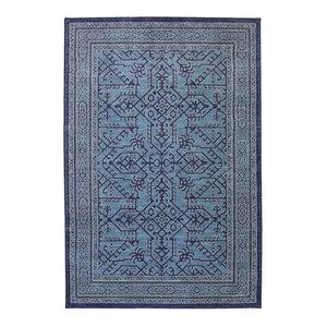 Barrow Blue Rug, 3'5x5'5