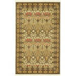 """Unique Loom - Unique Loom Carnation Edinburgh Area Rug, Brown, 3'3""""x5'3"""" - The classic look of the Edinburgh Collection is sure to lend a dignified atmosphere to your home. With an array of colors and patterns to choose from, there�s a rug to suit almost any taste in this collection. This Edinburgh rug will tie your home�s decor together with class and amazing style."""